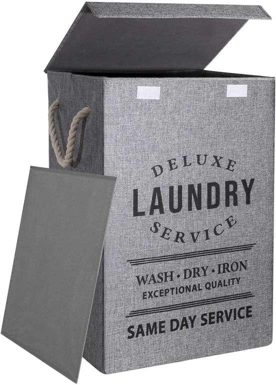 U Trip faltbarer Wäschekorb mit Deckel (85 Liter) für 12,49€ inkl. Prime Versand (statt 20€)