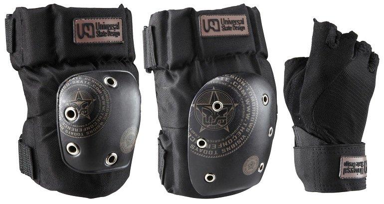 Quiksilver Protektoren 3er-Set (Knie + Ellenbogen + Handgelenk) für 28,35€ (statt 39€)