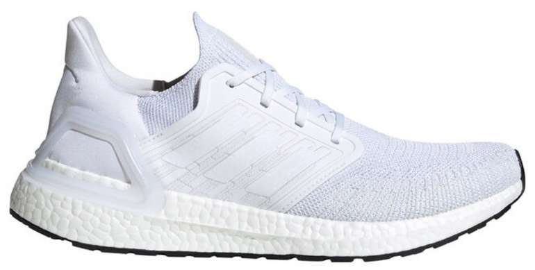 Adidas Ultra Boost 20 Herren Sneaker in Weiß für 81,88€ inkl. Versand (statt 109€) - Damen: 97,72€
