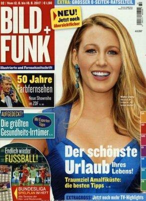 """13 Ausgaben der Zeitschrift """"Bild + Funk"""" für 29,90€ + 25€ Scheck"""