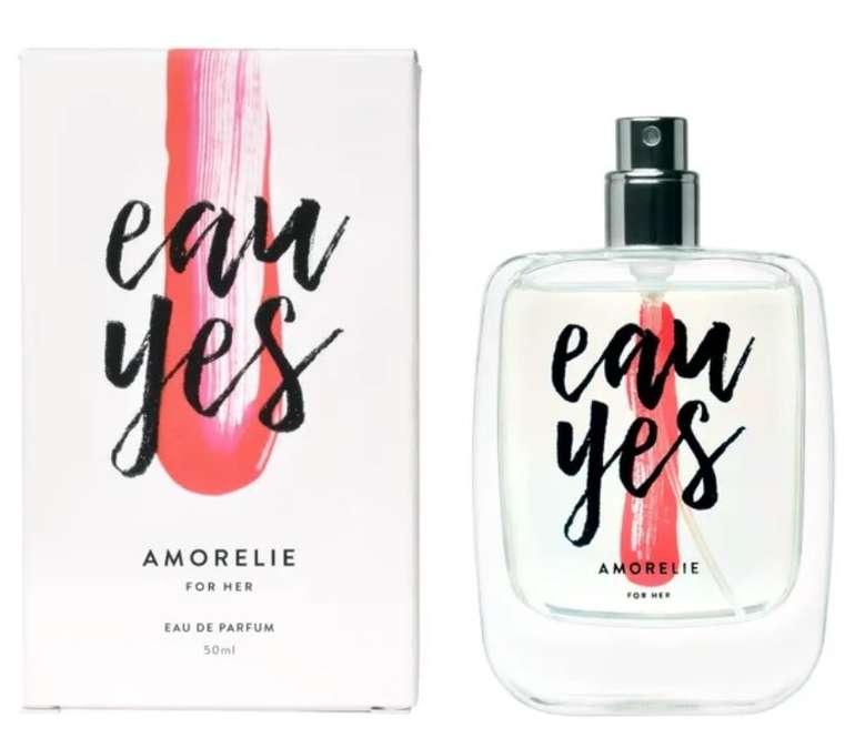 50ml Amorelie Eau Yes For Her Parfum für 21,85€ inkl. Versand (statt 60€)