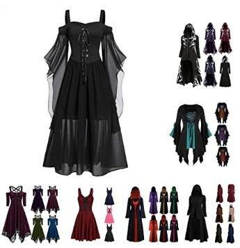 Uribaky Halloween Gothic Kostüm ab 11,10€ inkl. Prime Versand (statt 36,99€)