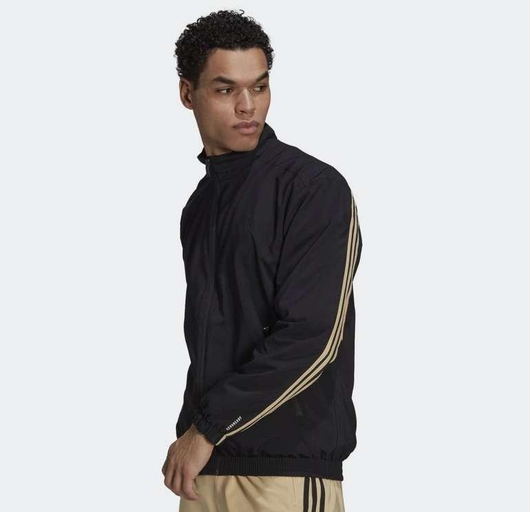 Adidas Sportswear Woven 3-Streifen Herren Trainingsjacke für 34,30€ inkl. Versand (statt 42€)