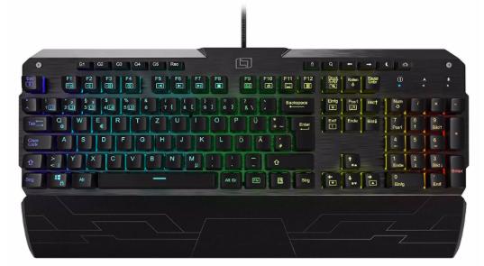 Lioncast LK300 - Mechanische Tastatur mit Beleuchtung für 60,89€ (statt 94€)
