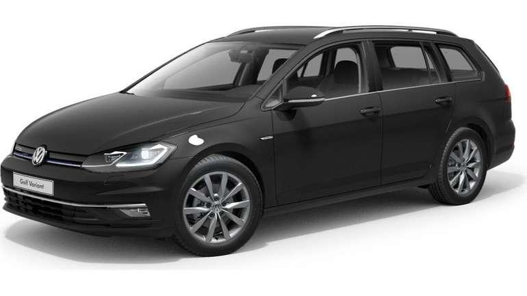 Gewerbe: Volkswagen Golf Variant 1,5 TSI Highline Business Edition mit Ganzjahresreifen für 78€ Netto mtl. leasen (LF: 0,31)