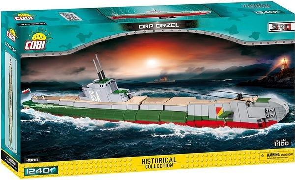 "Cobi Historical Collection ""Orp Orzel"" U-Boot (4808) Maßstab 1:100 für 37,59€ inkl. Versand (statt 47€)"