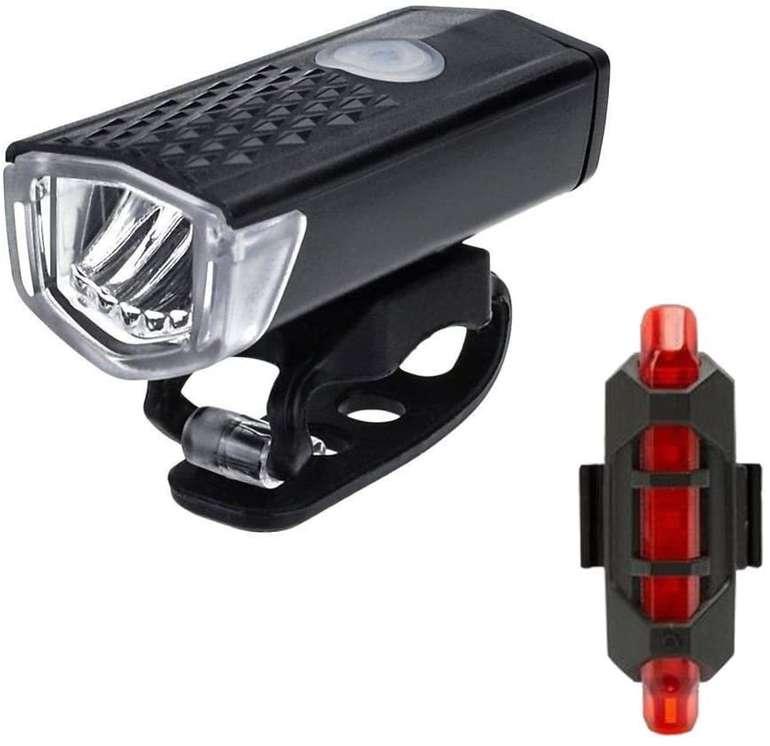 Hingpy wiederaufladbare LED Fahrrad Beleuchtung für 7€ inkl. Versand (statt 18€)