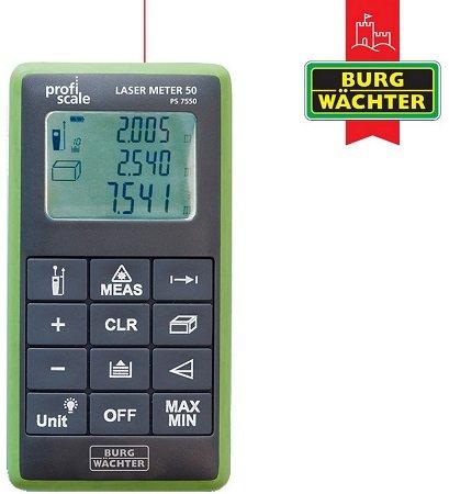 Burg Wächter 50 PS 7550 Entfernungsmesser mit Laser für 45,90€ (statt: 77€)