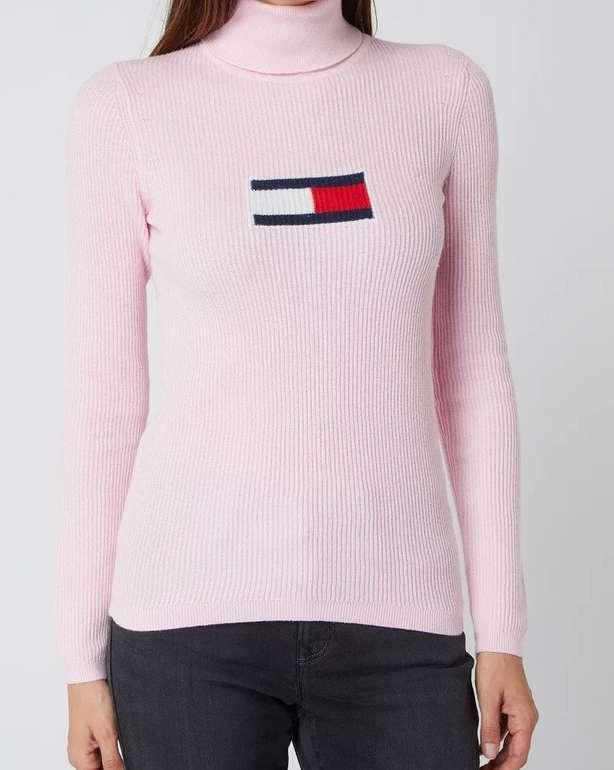 Tommy Jeans Damen Rollkragenpullover mit Kaschmir-Anteil für 84,99€ inkl. Versand (statt 100€)