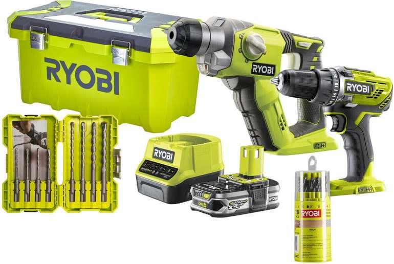 Ryobi Akku-Kombokit R18DDSDS-125T für 189,99€ inkl. Versand (statt 230€)