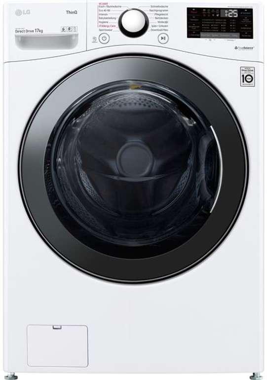 LG F11WM17TS2 Waschmaschine für 17 kg (!!) mit 1100 U/min und EEK:E für 888€ inkl. Versand (statt 999€)