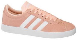 Adidas VL Court 2.0 W Sneaker in pink/weiß für 34,90€ inkl. Versand (statt 45€)