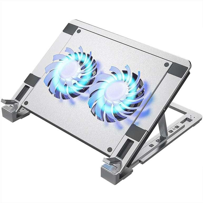 Ulocool Laptop Ständer mit 2 Lüftern für 18,49€ inkl. Versand (statt 30€)