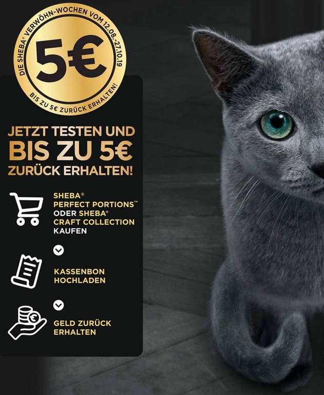 Sheba Produkte bis zu 5€ kostenfrei testen - Onlinebestellung möglich