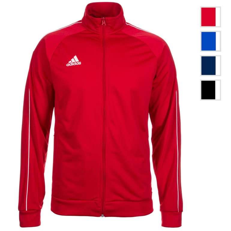 adidas Core 18 Polyesterjacke in 4 Farben für je 16,99€ (statt 20€)