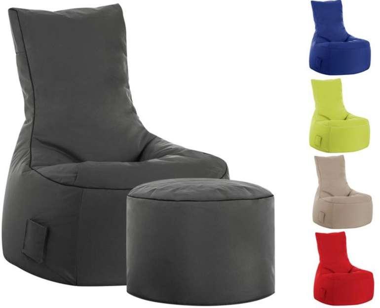 """Sitting Point Sitzsack """"Swing Scuba"""" für 58,17€ inkl. Versand (wahlweise mit Hocker für 72,72€)"""