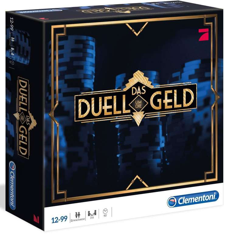 """Clementoni Quizspiel """"Das Duell um die Geld"""" für 10,39€ inkl. VSK"""