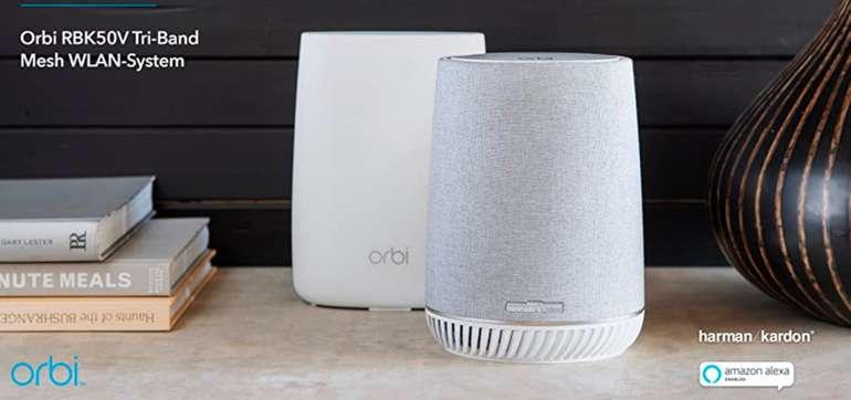 Netgear Orbi RBK50V Voice Mesh-WLAN-System