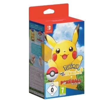 Pokémon: Let's Go, Pikachu + Pokéball Plus (Switch) + 2 Anhänger für 49€