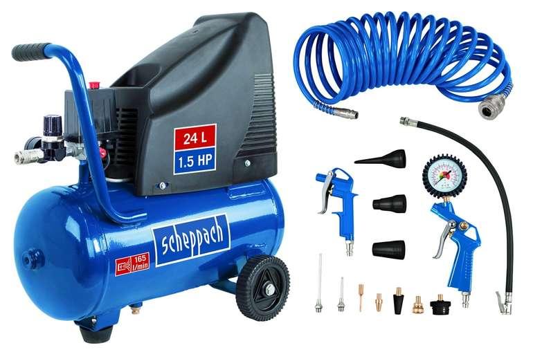 Scheppach Kompressor GK250o (230V, 8 bar, 24 l) für 91,53€ inkl. Versand (statt 114€)
