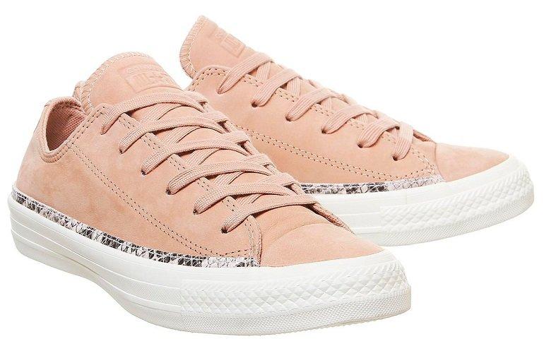 Converse All Star Low Trainers Vachetta Beige Snake Damen Sneaker für 35€ (statt 65€)