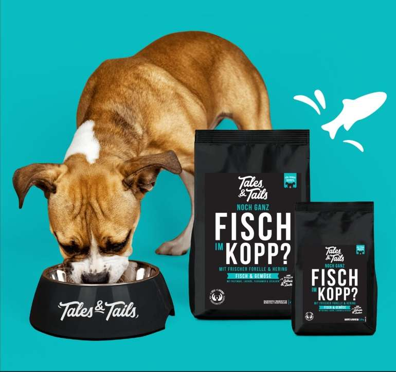 Gratisprobe: Tales & Tailes Hunde Trockenfutter kostenlos bestellen