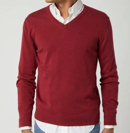 Montego Pullover mit V-Ausschnitt in 14 Farben für je nur 13,99€ (statt 20€)