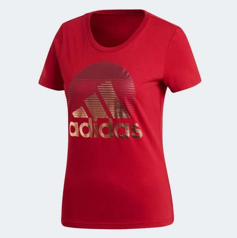 "Adidas ""W MH Foil"" T-Shirt (Damen) für 13,98€ inkl. Versand (statt 25€) - Creator Club"