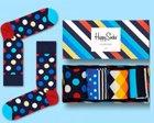 Happy Socks Black Friday Sale mit -40% Rabatt, z.B. 4er Pack Socken für 17,97€