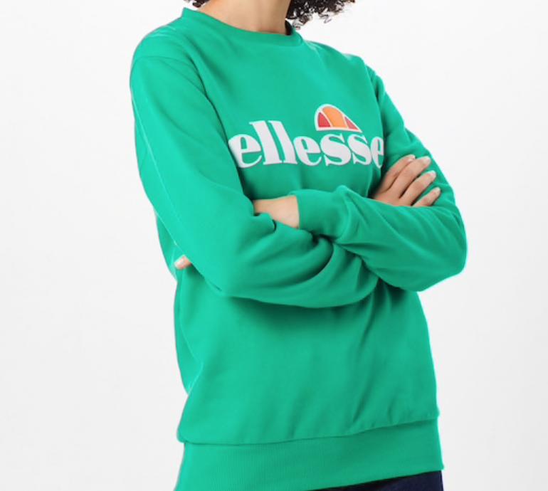"""Ellesse Damen Sweatshirt """"Agata"""" in orange oder grün für je 33,91€ inkl. Versand"""