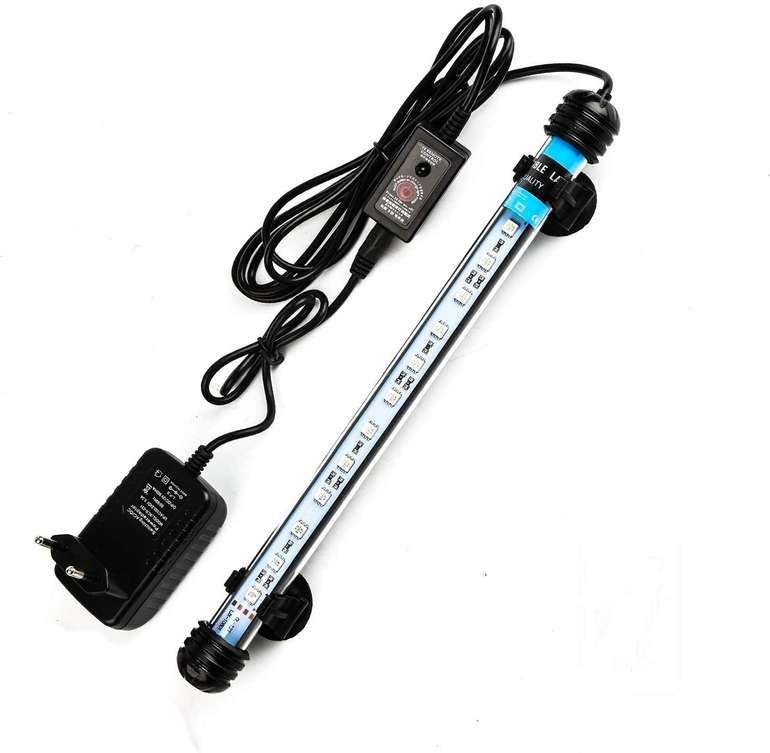 Hengda wasserdichte LED Aquarium Beleuchtung reduziert, z.B. 1,8W 28cm für 11,19€