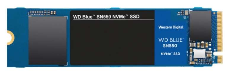 WD Blue SN550 NVMe - Interne SSD mit 500GB Speicher für 45,60€ inkl. Versand (statt 66€)