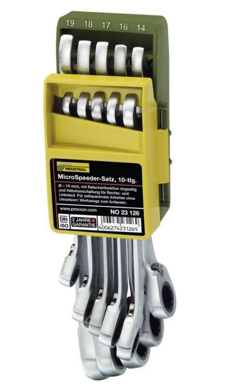 Proxxon 8-19 mm MicroSpeeder-Satz im Klapphalter (10-teilig) für 67,99€ inkl. Versand (statt 85€)