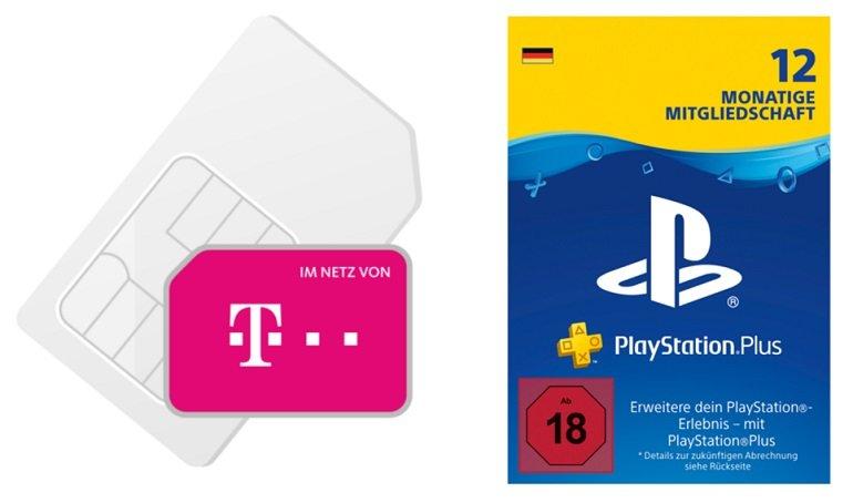 Playstation 5 Disc Version Telekom oder Vodafone green LTE 10GB Allnet Flat 3