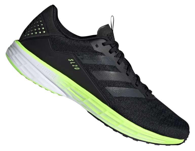 """adidas Laufschuh """"SL20"""" in schwarz/grün fluo für 54,95€inkl. Versand (statt 72€)"""
