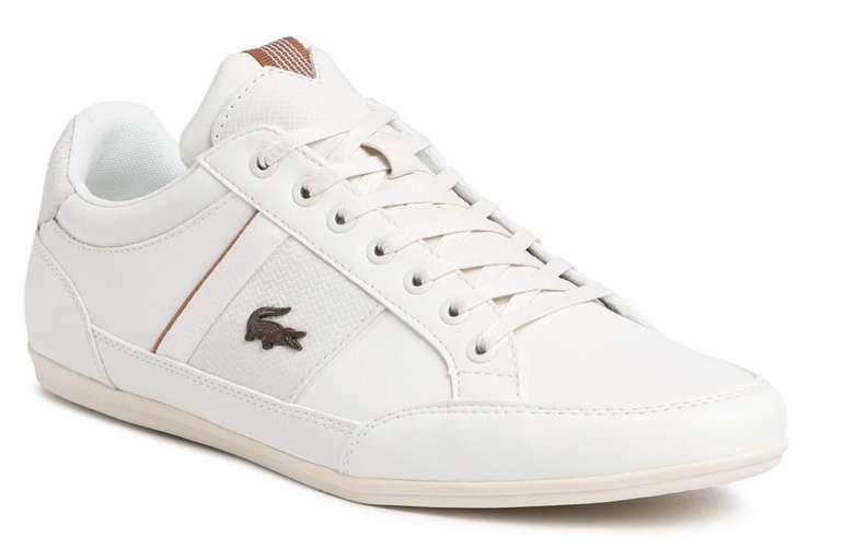 Lacoste Herren Sneaker Chaymon aus Leder in weiß-braun für 67,95€inkl. Versand (statt 84€)