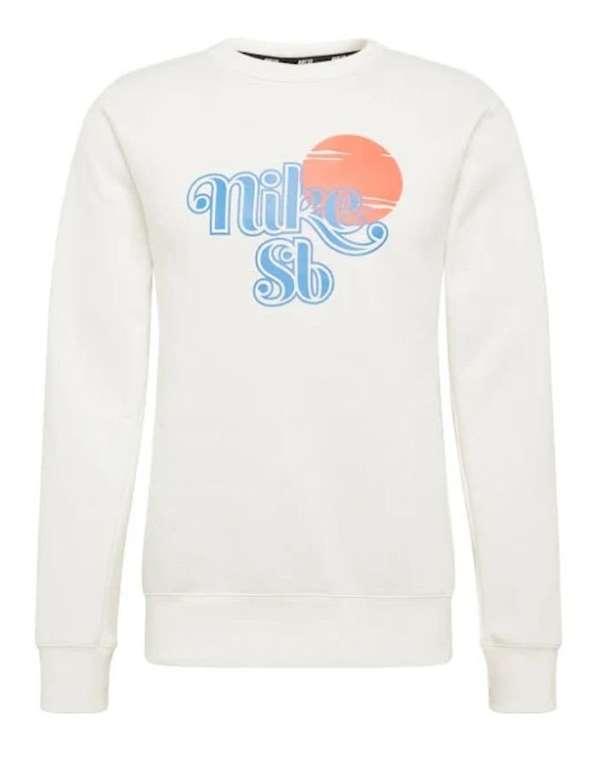 Nike SB Sweatshirt 'CREW SUNRISE' in aqua / neonorange für 19,04€ inkl. Versand (statt 53€)