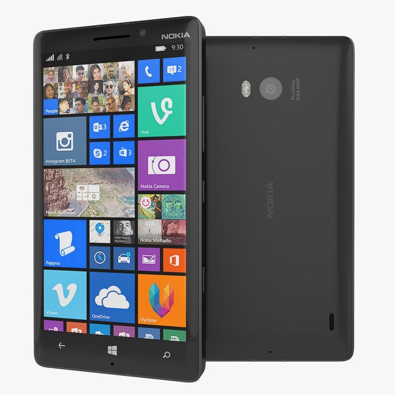 Nokia Lumia 930 in schwarz für 32,31€ inkl. Versand (statt 99€) - Gebrauchtware