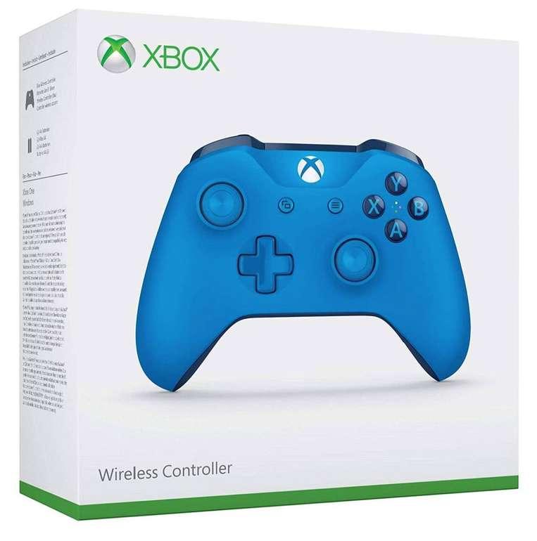 Microsoft Xbox One Wireless Controller in blau für 28,50€ inkl. Prime Versand (statt 54€)