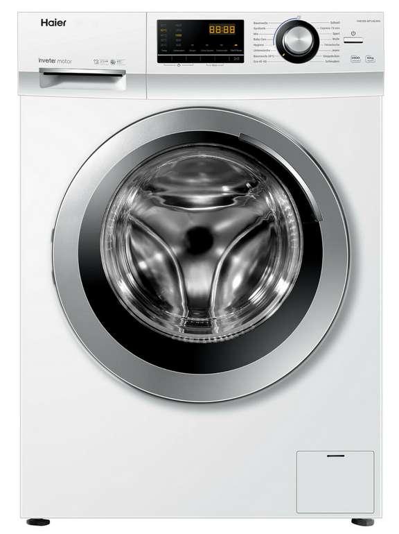 Haier Waschmaschine HW100-BP14636N Vollwasserschutz (10kg Fassungsvermögen, 1400 U) für 359,90€