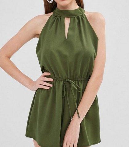 Zaful Fashion Sale für Sie & Ihn + 15% Gutschein, z.B. Grünes Kleid für 13,81€
