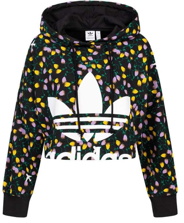 adidas Originals All Over Print Crop Damen Hoodie für 36,94€ inkl. Versand (statt 54€)