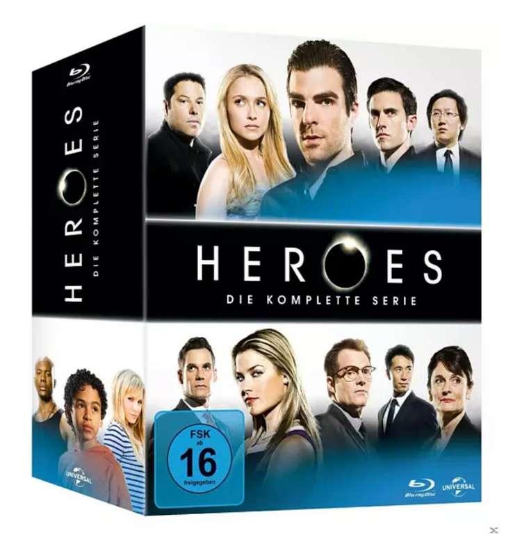 Heroes - Die komplette Serie Blu-ray für 33,08€inkl. Versand (statt 40€)