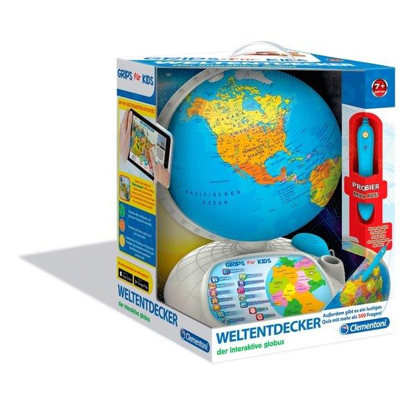 Clementino Galileo Interaktiver Globus für 39,99€ inkl. VSK (statt 51€)