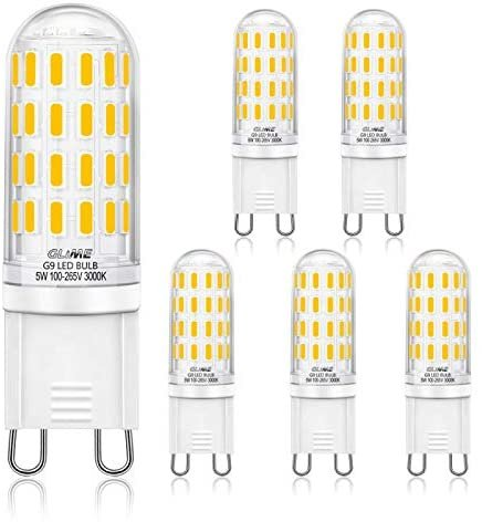 Glime G9 LED Lampen im 5er Pack (5W, 400 Lumen) für 7,19€ inkl. Prime Versand (statt 12€)
