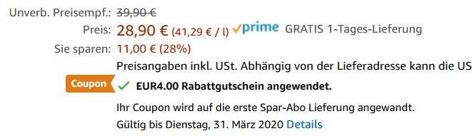 Momentum German Dry Gin 0.7 Liter
