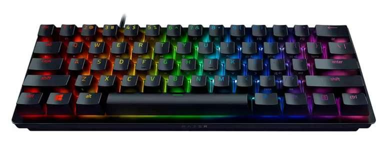 Razer Huntsman Mini Gaming Tastatur (Opto-Mechanical, Razer Clicky Optical Switch) für 79,99€inkl. Versand