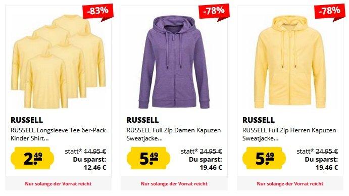 SportSpar Russel Fasion Sale 2