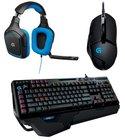Logitech G402 Gaming Maus, G430 Gaming Headset und G910 Gaming Tastatur für 149€