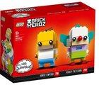 LEGO BrickHeadz 41632 - Homer Simpson & Krusty der Clown 23,94€ (2x für 33,98€)